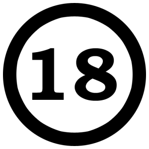18NumberEighteenInCircle